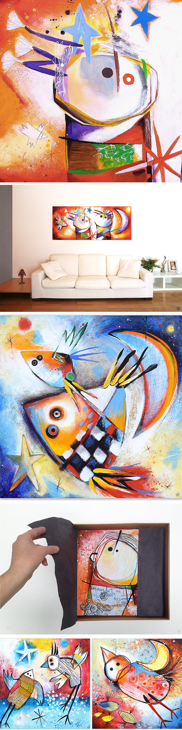 Art by Angeles Nieto