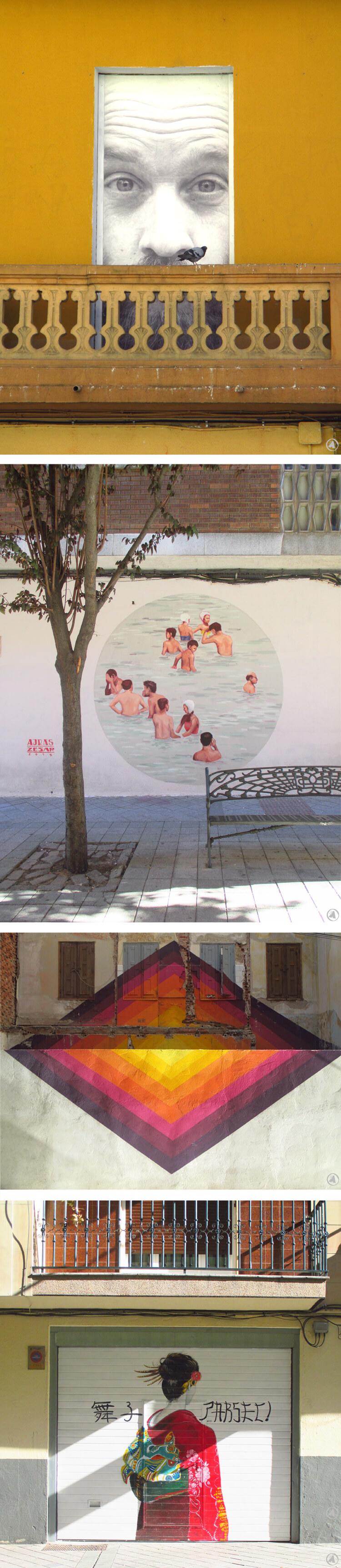 Artikel over kunst in Salamanca van Angeles Nieto