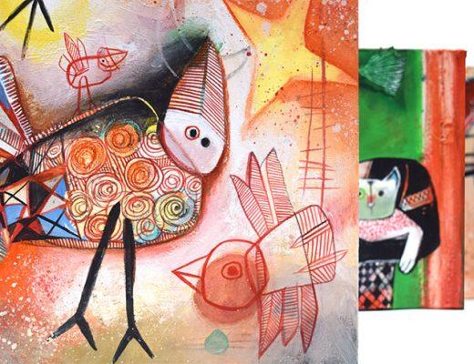 Paintings Angeles Nieto