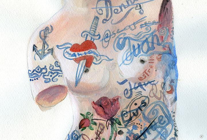 Venus ilustración Angeles Nieto