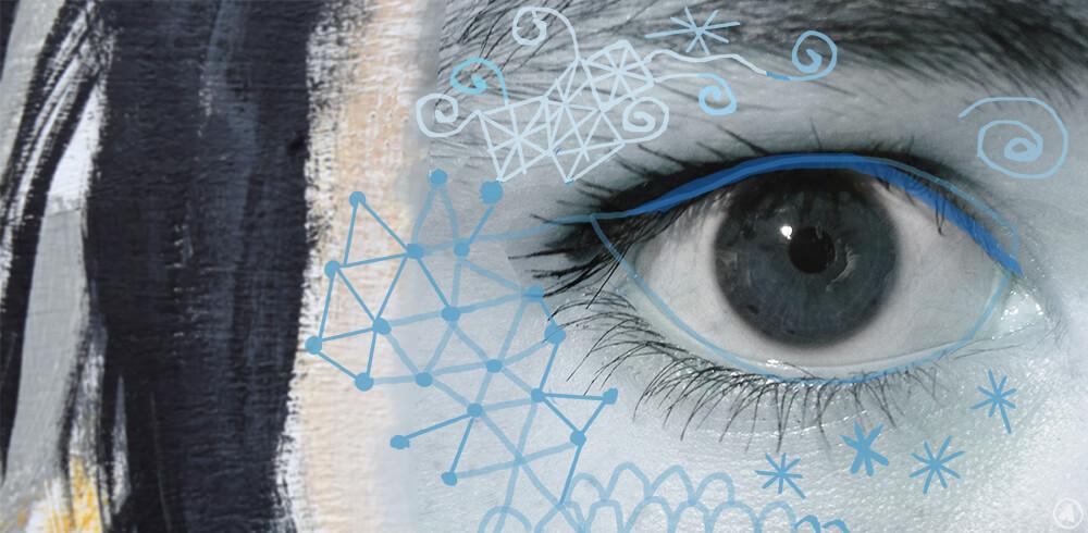 Angeles Nieto Ojos de artista