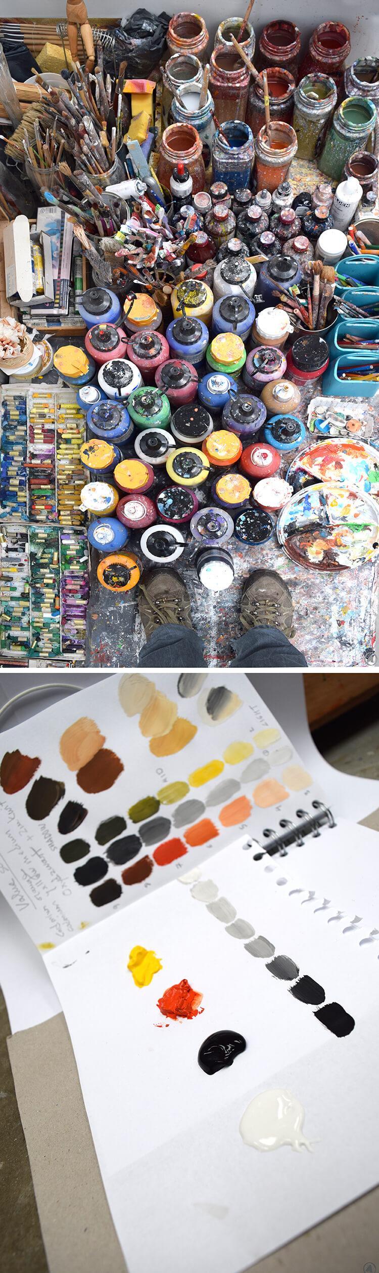 Foto por Angeles Nieto - artículo sobre nombrar colores