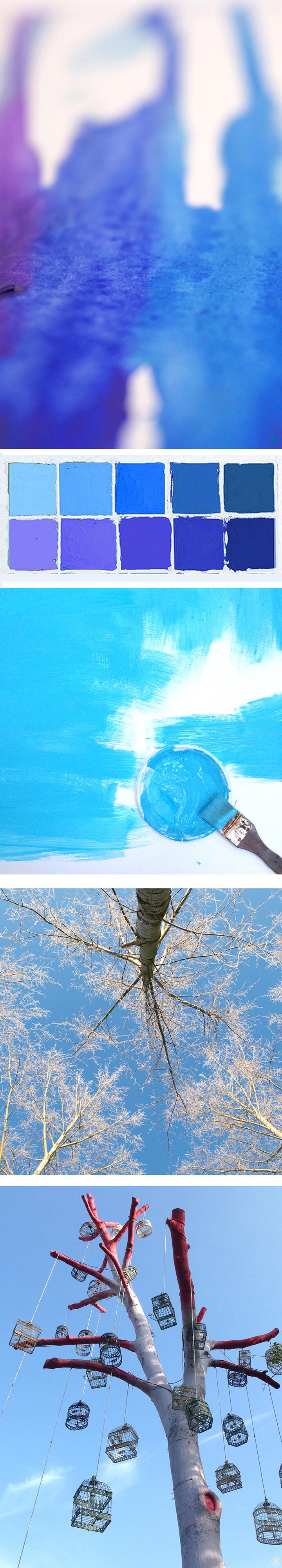 Blo about the color blue bu Angeles Nieto - Blog over de kleur blauw door Angeles Nieto - Blog sober el color Azul escrito por Angeles Nieto